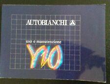 1991 AUTOBIANCHI Y10 fire - fire LX i.e. - GT i.e. 2^ serie uso e manutenzione