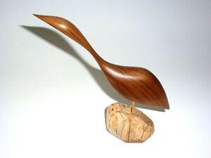 Jacob Hermann Inspired Wood Bird Art Sculpture - Modern Danish