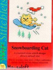 Stitchlets X Stitch KIT, Snowboard CAT (senza carta)