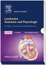 LERNKARTEN Anatomie und Physiologie, für Pflege- und Gesundheitsfachberufe, NEU