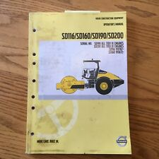 heavy equipment manuals books for ingersoll rand compactor ebay rh ebay com Ingersoll Rand Air Hoist Manual Ml Ingersoll Rand Lcbv389702 Manua