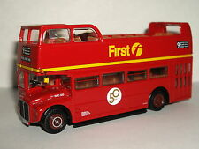 EFE AEC RMC ROUTEMASTER OPEN TOP FIRST LONDON ROUTE 9 1/76 33105