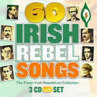 60 Irish Rebel Songs 3CD BOX SET 60 Greatest Irish Rebel Songs FREE UK P&P