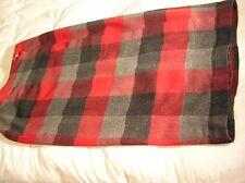 Old Navy, Multi-Color, Plaid Acrylic Blend True Wrap Skirt Long Size 10