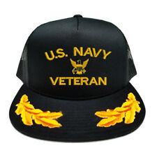 U.S. NAVY VETERAN SCRAMBLED EGGS YUPOONG CAP HAT
