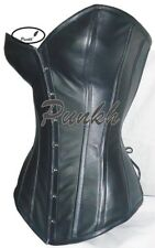 Sweetheart Body Shaper Over Bust Steel Boned Genuine Leather Corset 9999