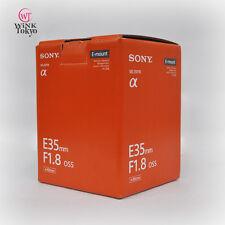 Sony SEL35F18 35mm F1.8 OSS Camera Lens For E-Mount Japan model New