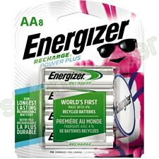 Energizer NH15BP8 AA 2300mAh Rechargeable Batteries - 8 Count