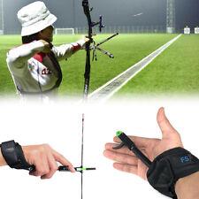 Archery Adjustable Release Aid Caliper Wrist Buckle Strap Compound Arrow Bow CR