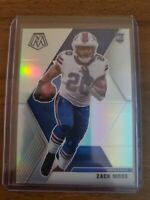 2020 Mosaic Zack Moss Silver Prizm Holo Parallel Rookie RC!!! Bills
