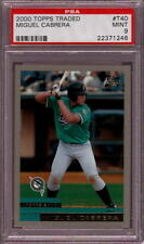 2000 TOPPS TRADED #T40 MIGUEL CABRERA RC PSA 9 B1752763-246