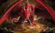 Anne Stokes - Dragons Lair Poster Print, 36x24