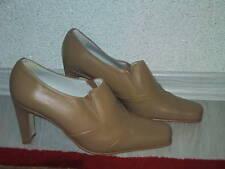 Feminine High Heel Pumps NEU Gr. 38 in camelfarbenem Nappaleder