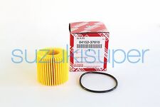 1 Genuine Toyota Oil Filter 04152-37010 (04152-YZZA6 ) Element Kit Corolla Prius