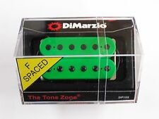 DiMarzio F-spaced Tone Zone Bridge Humbucker Green W/Black Poles DP 155