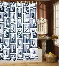 Rideau de douche RIDEAU DE DOUCHE 180x 180 cm Marylin Monroe incl. anneaux