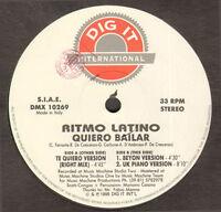 Ritmo Latino - Quiero Bailar - Dig It International