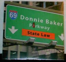 Donnie Baker State Law 24 track 2007 cd NEW bob and tom Ron Sexton