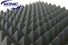 Pyramid Profile Acoustic foam sound treatment sheet 2000mm x 1200mm x 50mm