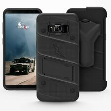 Zizo Bolt Series Holster Case For Samsung Galaxy S8 Black