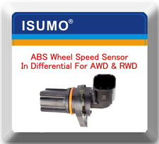 ABS Wheel Speed Sensor In Differential 4WD RWD Fits:Serie F Lobo Lincoln Mark LT
