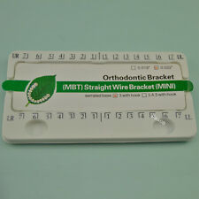 "Dental Orthodontic braces MIM monoblock MBT bracket 3 with hook 0.022"" 100 kits"
