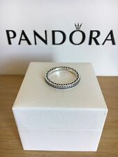 Brand New Pandora Stackable Ring Silver Hearts S925 ALE.Size 56