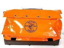 Klein Tools,     Large Vinyl Equipment Bag, Wide Opening 5181ORA *NEW*