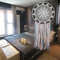 Handmade Macrame Dream Catcher Wall Hanging Home Car Decor Ornament Dreamcatcher
