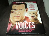 "DVD NEUF ""THE VOICES"" Ryan REYNOLDS, Gemma ARTERTON / horreur"