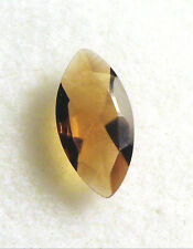 VERY NICE 8 x 4 mm MARQUISE CUT FACETED SMOKY CITRINE QUARTZ BRAZIL