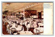 New Orleans LA, Fabacher Restaurant Dining Room, Louisiana c1909 Postcard Z53