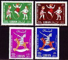 Libanon Lebanon 1964 ** Mi.843/46 Tag des Kindes Day of the Child