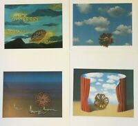 Rene Magritte Art Print Bookplate Book Cut LOT *** SEE VARIETY