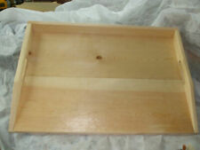 Primitive Country Stove Cover Noodle Board Hand Crafted UNFINISHED wOOD