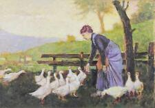 B3-038. AGRICULTEUR D'ALIMENTATION. HUILE/TABLE. LUDOVICO TOMMASI (1866-1941)