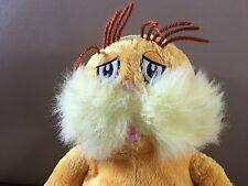"Kohls Kohl's LORAX Stuffed Yellow Dr Seuss 14"" Retired Plush OFFERS WELCOME"