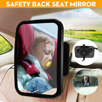 Baby Kids Car Inside Safety Large Wide Mirror Rear View Ward Seat Safety