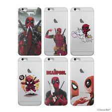 Deadpool Maravilla Funda Gel / para Apple Iphone 8 Plus / Protector de Pantalla