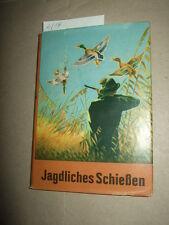 Jagdliches Schießen,1961,DDR,Jäger-Fachbuch,Tier-/Naturbuch