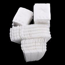 100x Facial Makeup Remover Cotton Pads Nail Polish Makeup Cleaning Wipe Pad