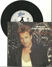 Don Johnson, Heartbeat, G+/VG 7'' Single, 3954