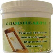 MULTI-VITAMIN,MINERALS+GINSENG 90 tablets (One per day)