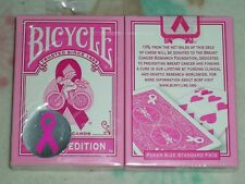 1 deck Bicycle pink Ribbon V1 Edition Playing Card S10322410