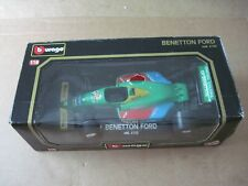 Burago Benetton Ford F1 Race Car Diecast 1:18 #6102