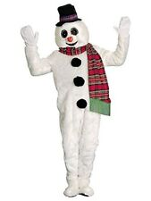 Winter Willy Snowman Mascot Adult Costume Christmas Holiday Winter
