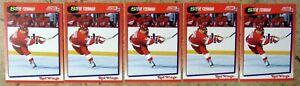 Steve Yzerman 1991 Score #190 Detroit Red Wings 5ct Card Lot