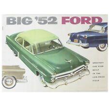 1952 Ford Coronado Deck Conversion Accessory Sales Brochure 52