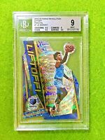 JA MORANT FRACTAL PRIZM ROOKIE CARD GRADED 9 BGS 9.5 x2 SP RC 2019-20 Revolution