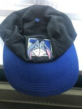Disney Eeyore Cap - Blue/Black - New